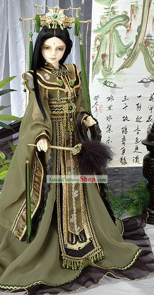 Chinese Tang Dynasty Emperor Enthronement and Celebration Emperor Costumes and Hat Complete Set