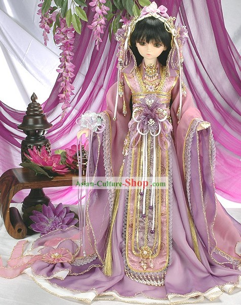 Ancient Princess Costume and Head Accessories Complete Set