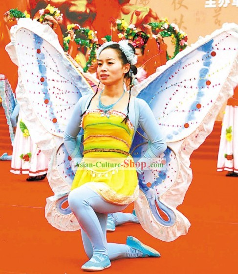 Butterfly Chinese Folk Drama Costume