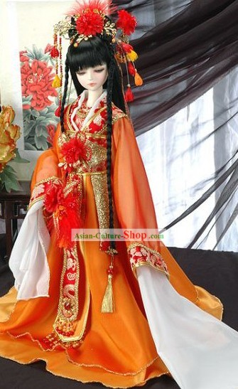 Chinese Classic Handmade Ancient Princess Costumes