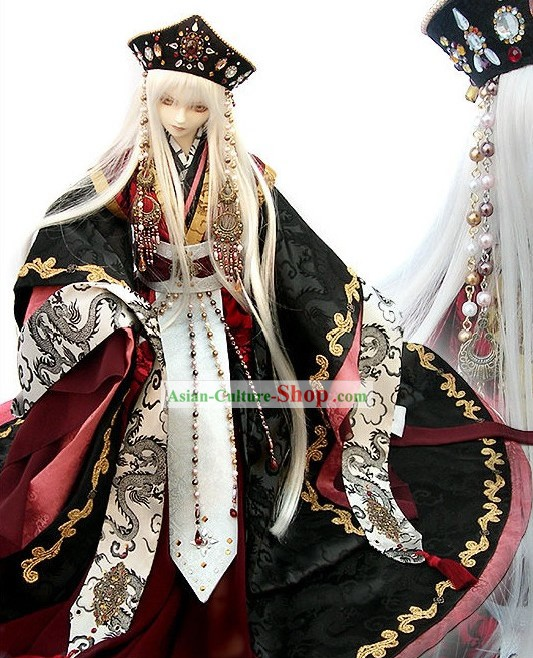 Japanese Ancient Emperors Cloths