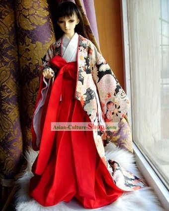 Traditional Japanese Kimono for Girls
