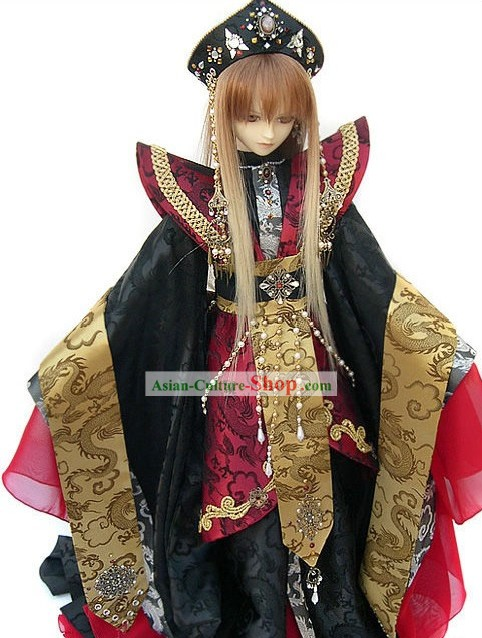 Japanese Ancient Prince Costume Complete Set