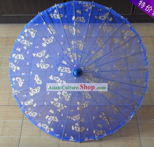 China Hand Made Silk Umbrella 4