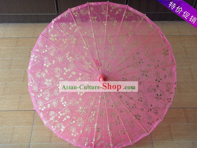China Hand Made Silk Umbrella 3