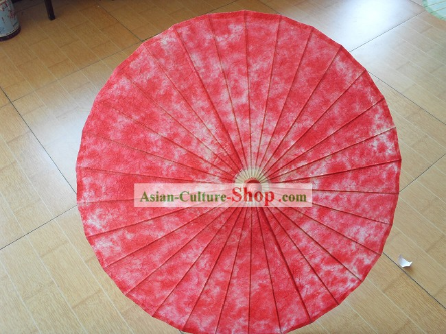 Chinese Hand Made Red Cloud Umbrella