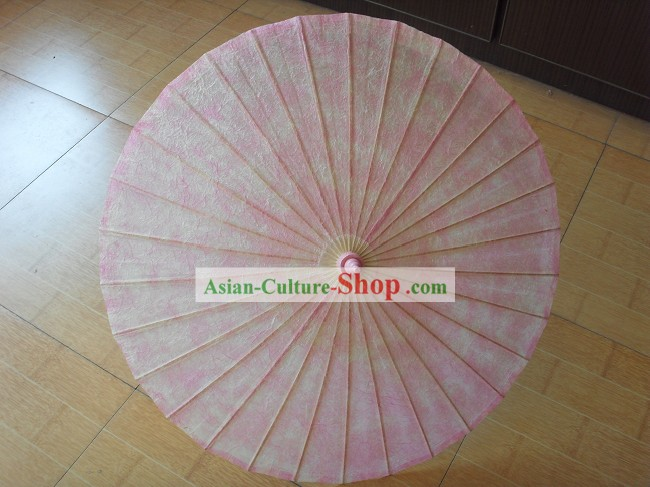 Chinese Hand Made Pink Umbrella