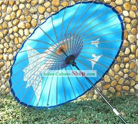 Wagasa Traditional Hand Made Japanese Crane Umbrella
