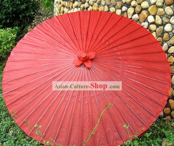 Wagasa Traditional Hand Made Japanese Red Wedding Umbrella