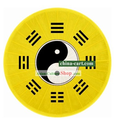 Chinese Hand Made and Painted Bagua Painting Umbrella