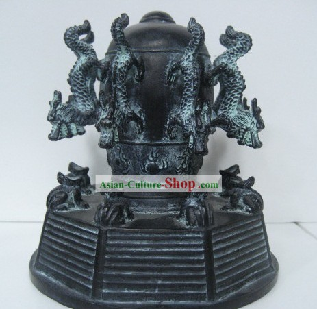 Chinese Archaize Bronze Seismograph