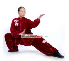 Chinese Professional Martial Arts Practice Uniform Complete Set