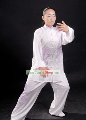 China Martial Arts Tai Chi Blouse and Pants Complete Set