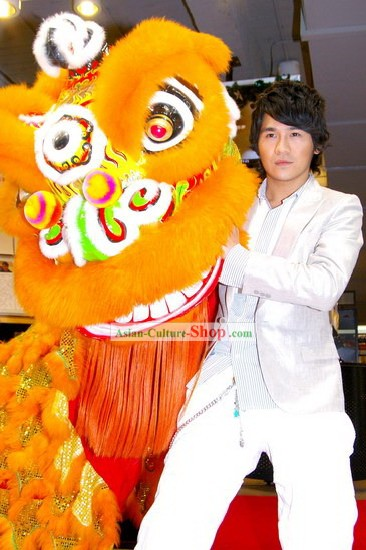 Chinese Classic Lion Dance Costume Complete Set