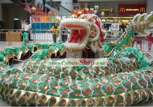 Supreme Competion and Parade Large Wool Dragon Dance Costume Complete Set for Children