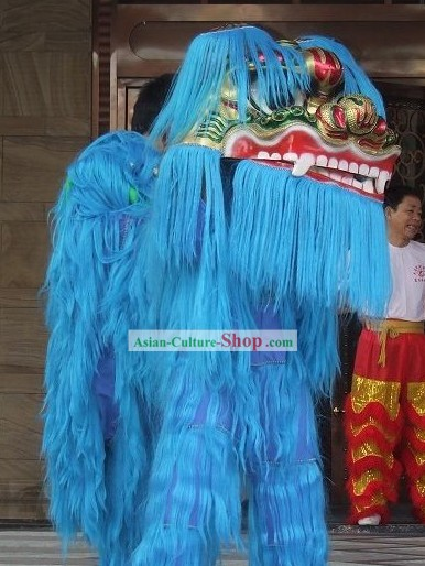 Chinese Classical Lion Dance Costumes Complete Set