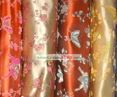 Traditional Butterfly Silk Fabric