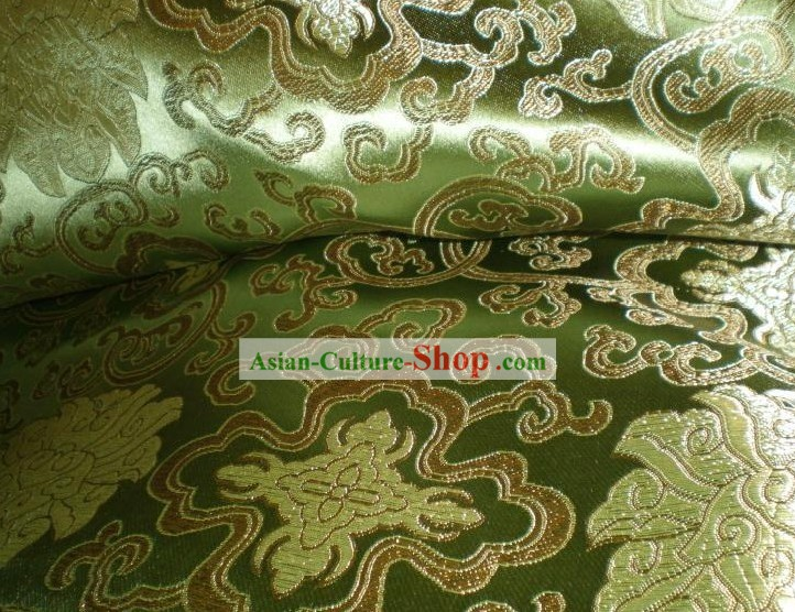 Wishes Flower Brocade Fabric