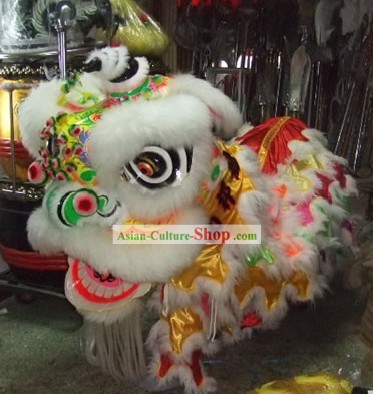 Competiton and Parade Rainbow Southern Lion Dance Costumes Complete Set