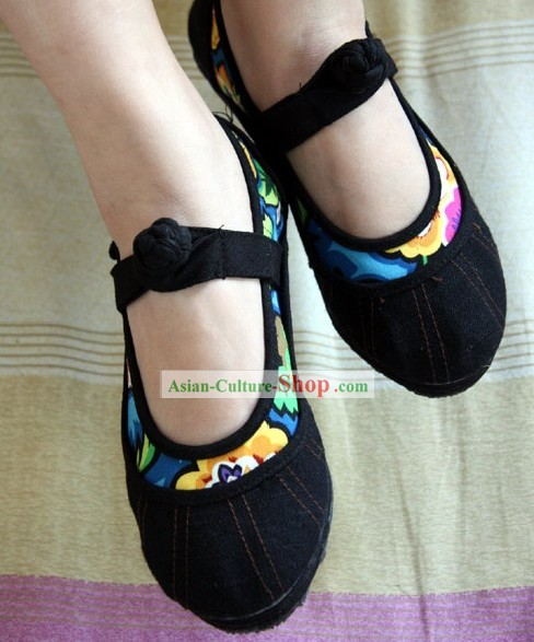 Chinese Cotton Shoes/Handicraft Shoes