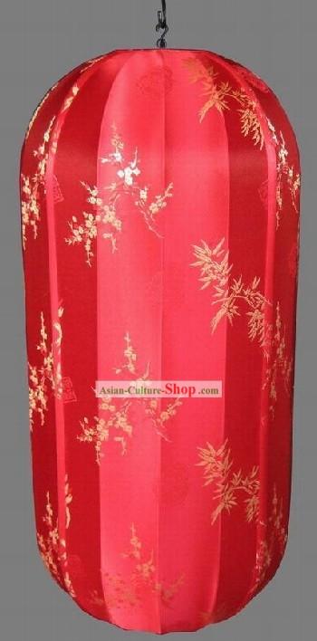 Chinese Electrical String Red Lanterns/Silk Brocade Lanterns