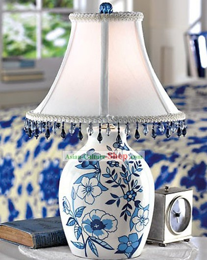 Chinese Blue White Ceramic Lantern/Table Lantern