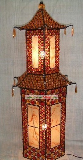 Large Tower Shape Chinese Metal Palace Lanterns/Iron Lantern