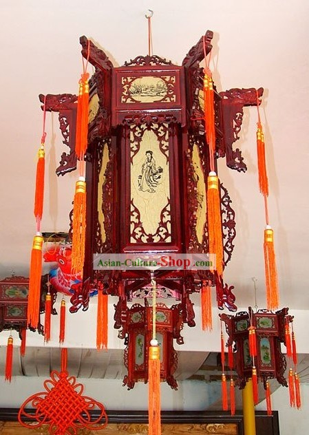 Chinese Traditional Sheepskin Palace Lantern