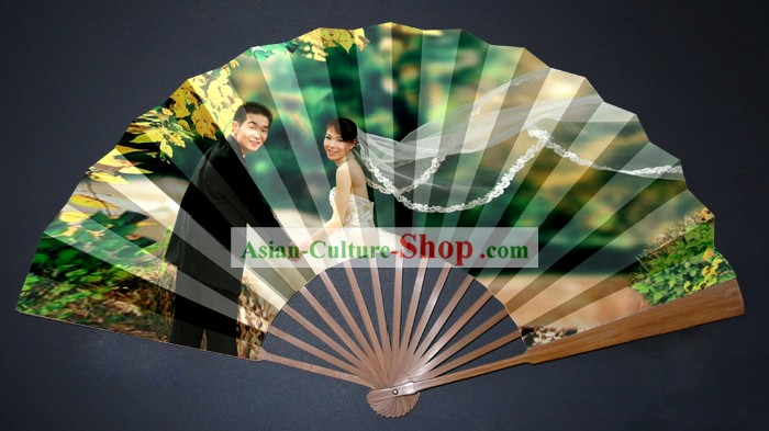 Custom Wedding Fan According to Your Wedding Photoes