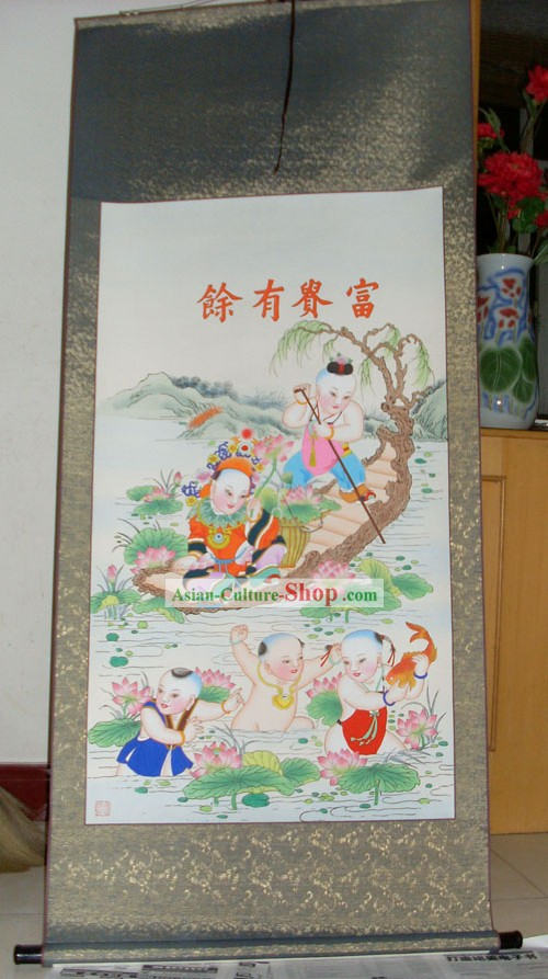 Tianjin Yangliuqing Chinese Ancient Painting/Chinese Painting Supplies