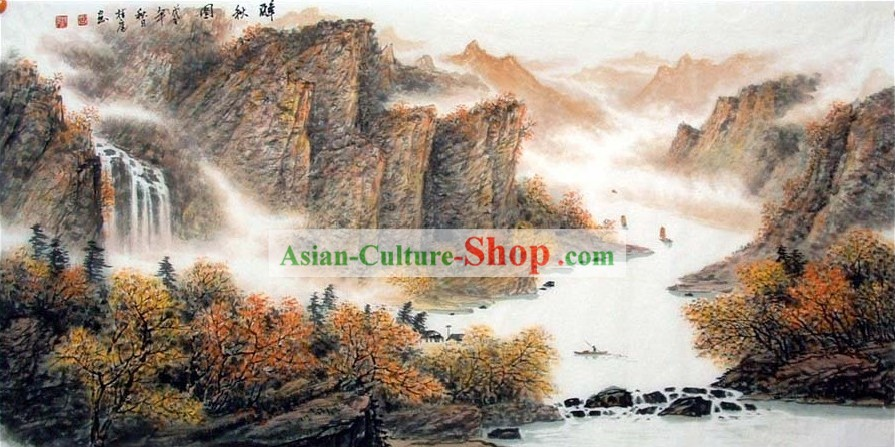 Traditional Chinese Painting/Guilin Landscape Painting
