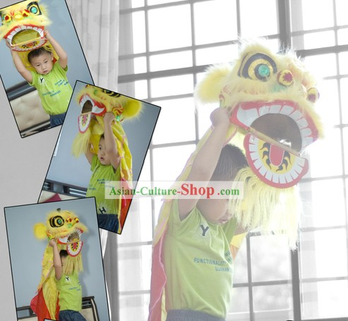 Happy Celebration Traditional Handmade Lion Dance Costumes