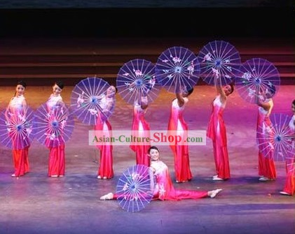 Chinese Traditional Dance Silk Umbrella Props