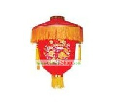 Traditional Chinese Happy Celebration Flower Lantern