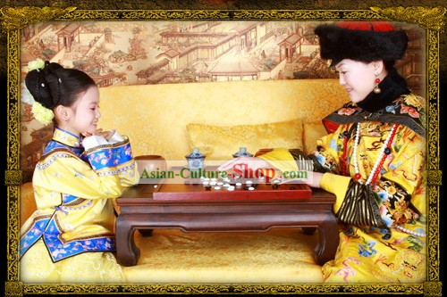 China Ancient Princess Clothing Full Set