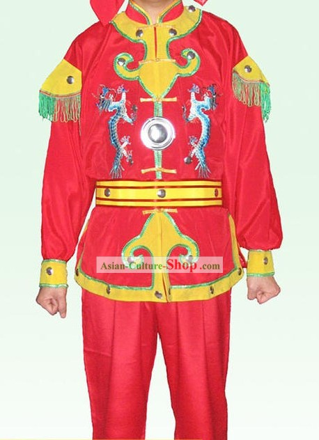 Chinese Classic Dragon Martial Arts Uniform Set