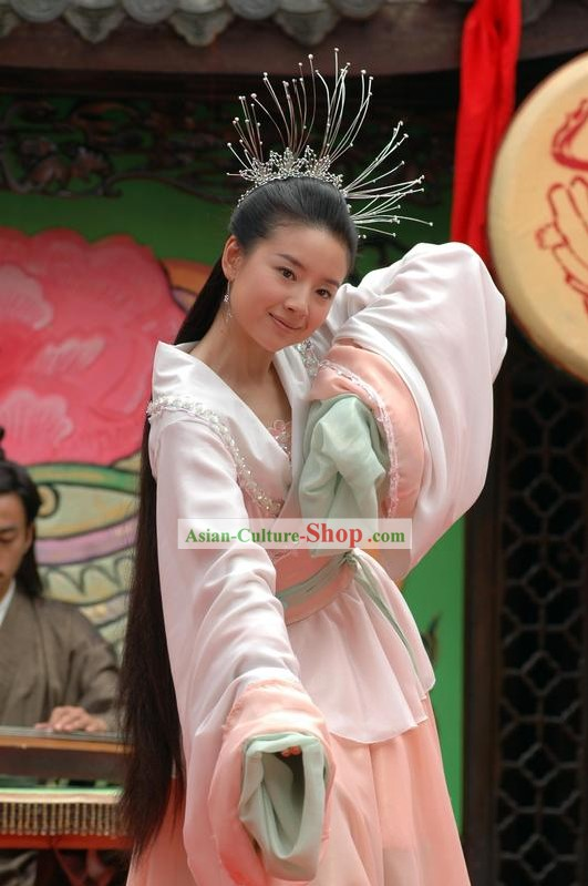 Zhu Yingtai Costumes Set in Butterfly Lovers