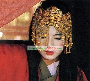 Chinese Traditional Wedding Hair Decoration Crown for Women