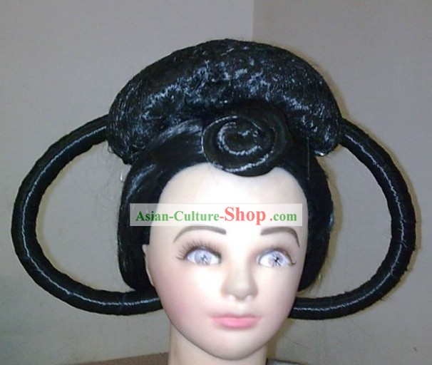 Ancient China Tang Dynasty Palace Lady Wig