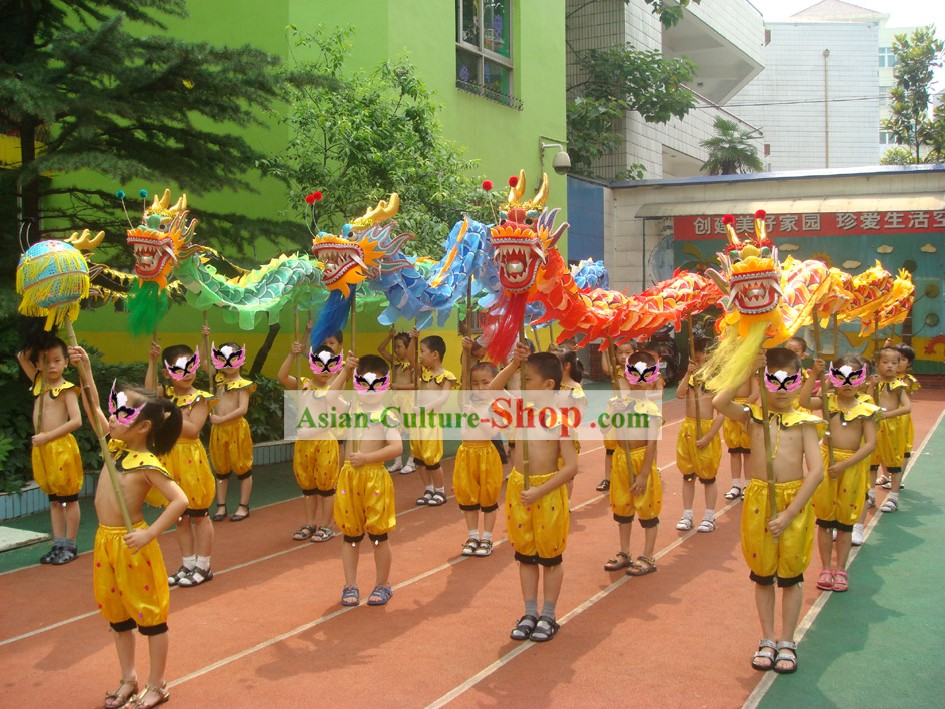 Costumes pour enfants chinois traditionnel dragon Complete Set