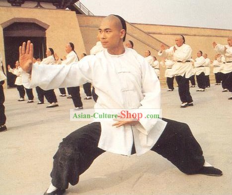 Huo Yuanjia Martial Arts Artist Men Costumes Complete Set