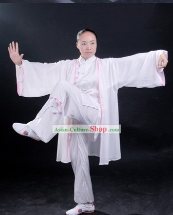 Chinese Classical Sifu Martial Arts Performance Uniform Complete Set