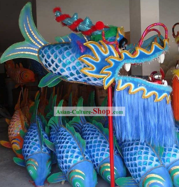One Person Play Celebration and Parade Dragon