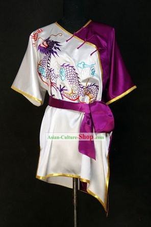 China Artes Marciais Tai Chi bordado Dragão Uniform
