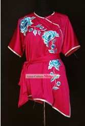 China Artes Marciais Tai Chi Uniform flor bordada
