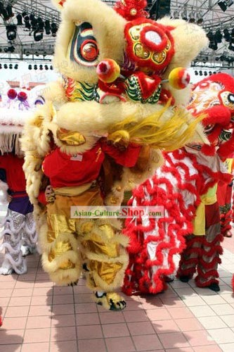 Competition and Parade Lion Dance Costume Complete Set