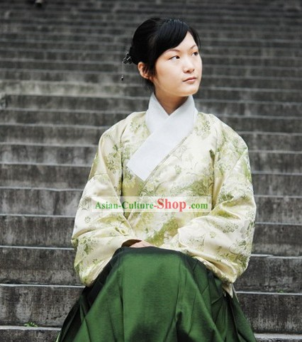 China Ming Dynasty Women Clothing Complete Set