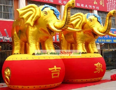 158 Inch Large Inflatable Elephant