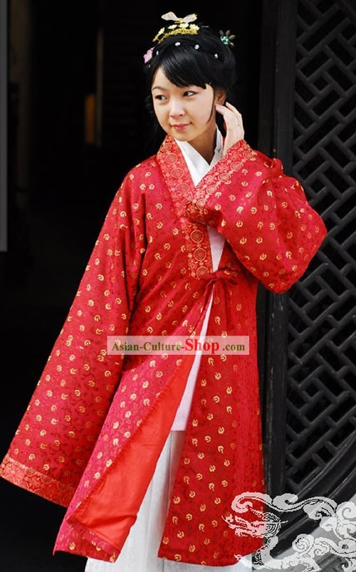 China Ming Dynasty Dress Complete Set for Women