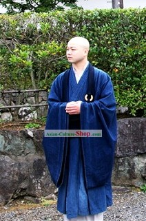 Chinese Monk Robe and Shoes Set